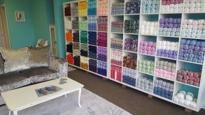 the crochet lounge