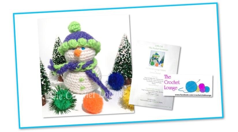Snowman Crochet Lounge Pattern